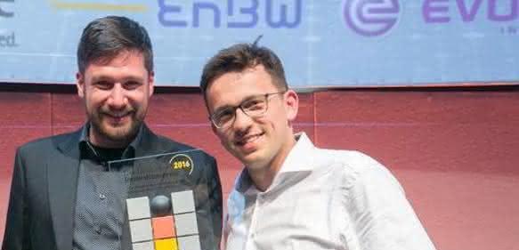 Stephan Kühr und Aleksander Ciszek