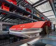 Swisslog CycloneCarrier Shuttle System