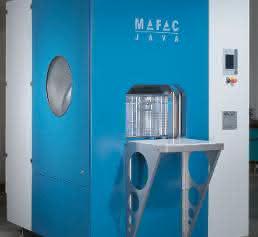 Spritz-Flut-Reinigungsmaschine Mafac Java