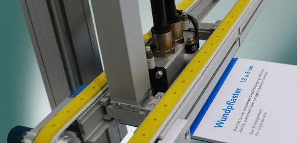Vakuum-Transportband