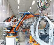 Bosch Rexroth Schweißen bei Audi