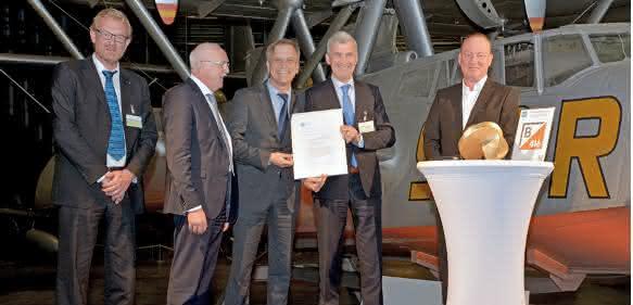 Preisverleihung VDI Innovationspreis Logistik an Vanderlande
