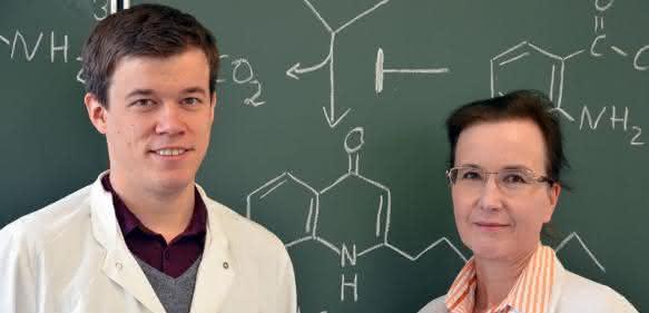 Steffen Drees mit Prof. Dr. Susanne Fetzner