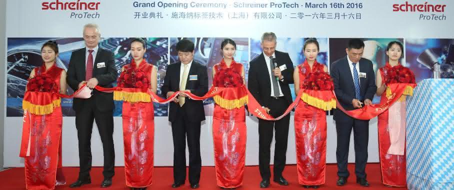 Schreiner Protech eröffnet neue Produktion