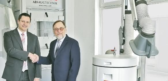 Die neue Doppelspitze von Esta: Dr. Peter Kulitz und Philipp Raunitschke