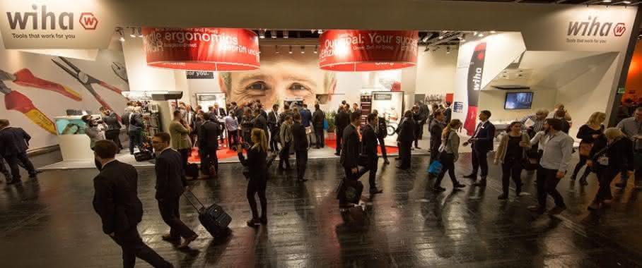 Wiha Messestand Eisenwarenmesse Köln