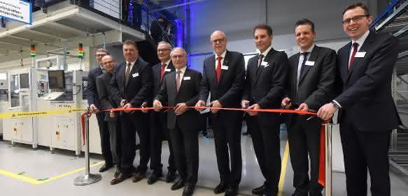 Eröffnung des ersten Bauabschnitts bei Ebm-Papst in St. Georgen-Hagenmoos