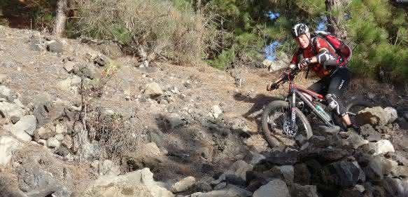 Hajo Stotz fährt Mountainbike