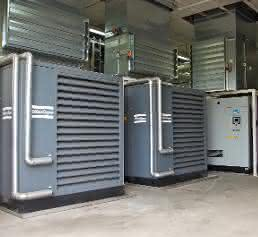 Schraubenkompressoren von Atlas Copco