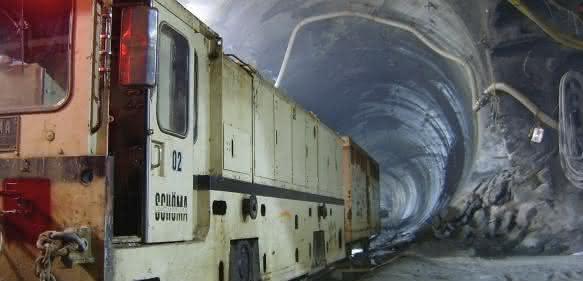 Tunnellokomotive Schöma