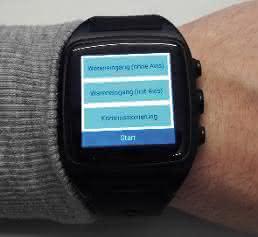 Smartwatch von ICS