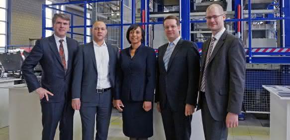 Eröffnung der DuPont-Forschungsbasis
