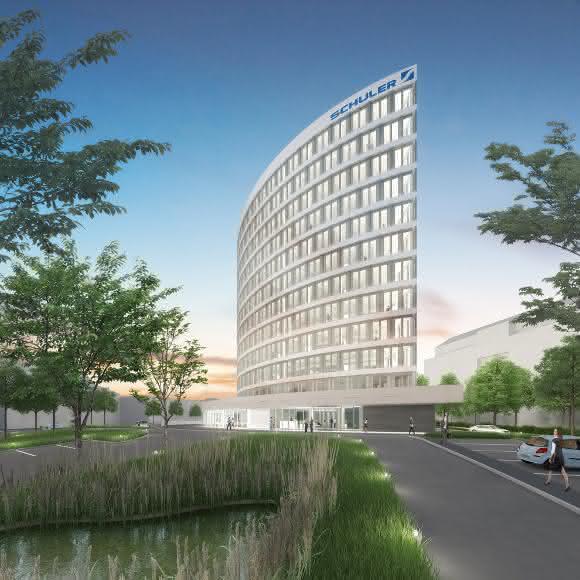 Schuler Neubau in Göppingen