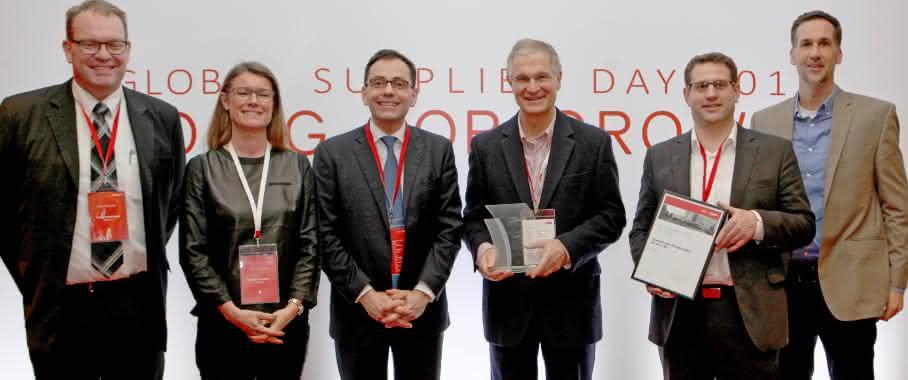 Schaeffler erhält Quality Supplier Award von Danfoss