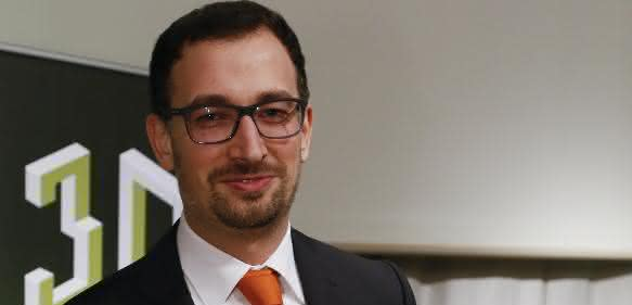 Florian Bechmann, Entwicklungsleiter bei Concept Laser