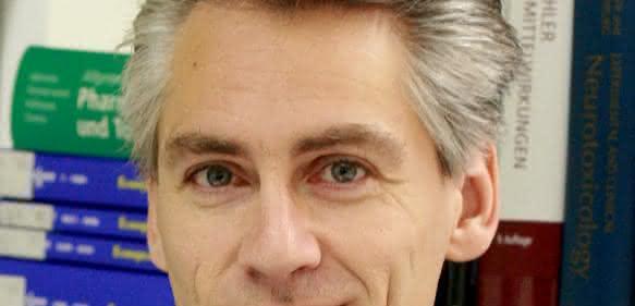 """Prof. Dr. Marcel Leist, Professor für Alternative in vitro-Methoden an der Universität Konstanz und Leiter des """"Zentrums für Alternativen zum Tierversuch in Europa"""" (CAAT-Europe)."""