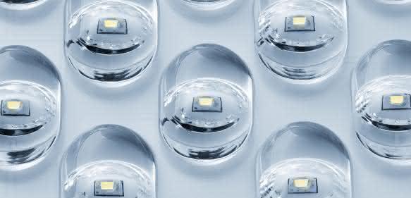 LED Linsen präzise befestigen