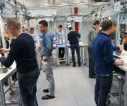 Lernfabrik für globale Produktion am KIT