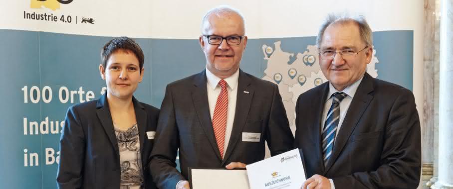 Werma erhält 100 Orte Industrie4.0 Preisverleihung