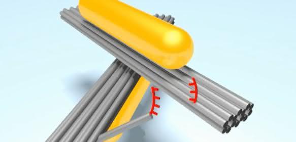 scherenartiges Nanosystem