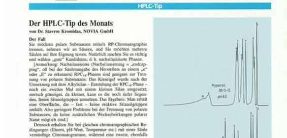 HPLC-Tipp