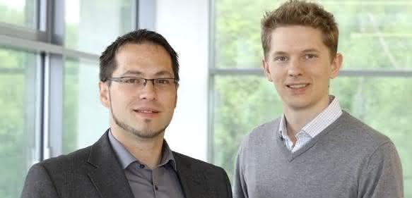 Stephan Binder und Georg Schaumann (rechts)