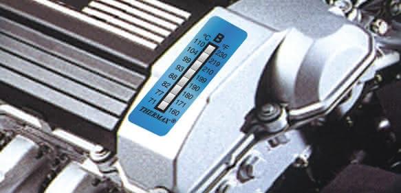 8-Punkte Temperaturmessstreifen von B+B Thermo-Technik