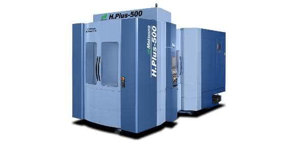 Horizontal-Bearbeitungszentrum H.Plus-500