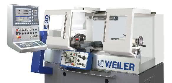 Weiler Drehmaschine E30