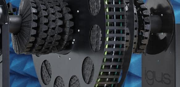 Kabeltrommel e-spool von Igus
