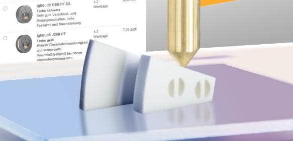 Neuer 3D-Druckservice von Igus