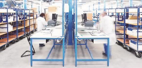 Berger Betriebseinrichtungen Rutronik Arbeitsplatzlösungen