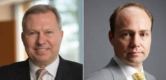 Gary Zieziula (links) und Marc Horn