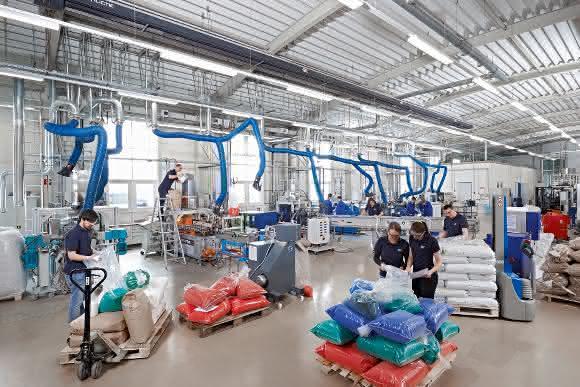SKZ Würzburg: Auf mehr als 17 Hektar erbringt das SKZ zahlreiche Dienstleistungen für die Kunststoffindustrie