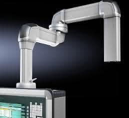 Rittal Bediengehäuse Comfort-Panel mit den Tragarmprofilen CP 120 und CP 60