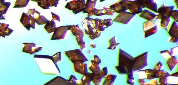 eckige Polyimid-Partikel