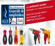 Wiha zeigt ergonomisches Werkzeug auf der Eisenwarenmesse