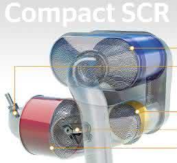 Kompakt SCR-System für Nutzfahrzeuge und Baumaschinen von Continental