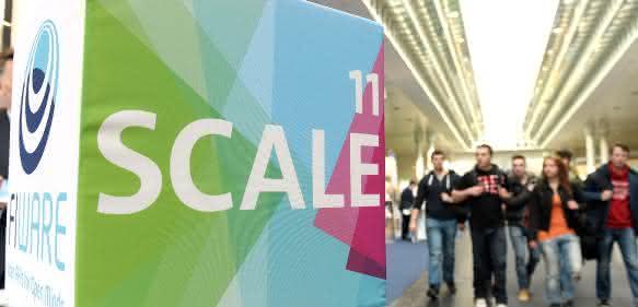 Cebit Start-up-Plattform Scale 11