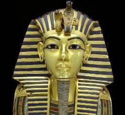 Totenmaske von Pharao Tutanchamun