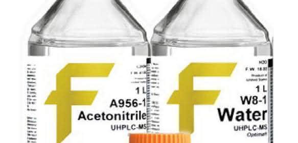 Für UHPLC/MS-Geräte: Lösungsmittel mit hohem Reinheitsgrad