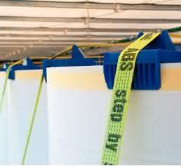 Hilfsmittel für den Papiertransport: Rollen-Sicherung