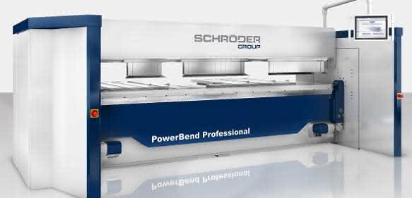 Schwenkbiegemaschine PowerBend Professional UD