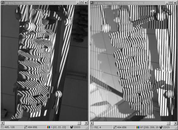 Bildverarbeitung für die 3D-Darstellung von Kurbelwellen: Prüfung in der Datenbank