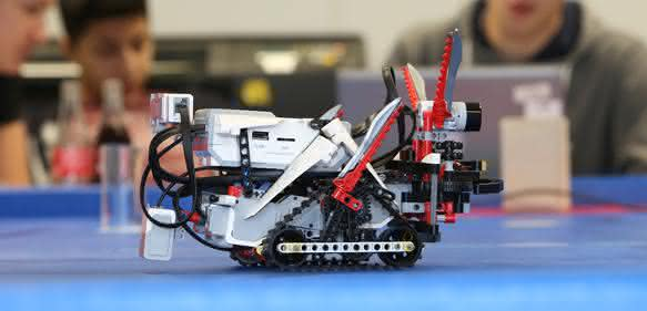 Schunk Robot Competition Schüler Hölderlin Gymnasium Lauffen
