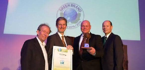 Green Brands Germany 2015 mit Stern