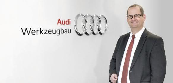 Michael Breme, Leiter des Audi-Werkzeugbau