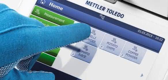 Von Mettler Toledo gibt es den neuen Halogen Moisture Analyzers HC103.