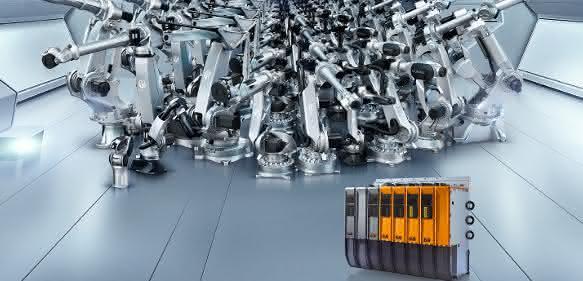 Comau Roboter mit B&R-Steuerung