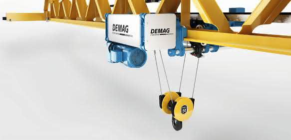 Demag Profilkran mit Design Award